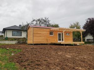 Tiny House mit Terasse
